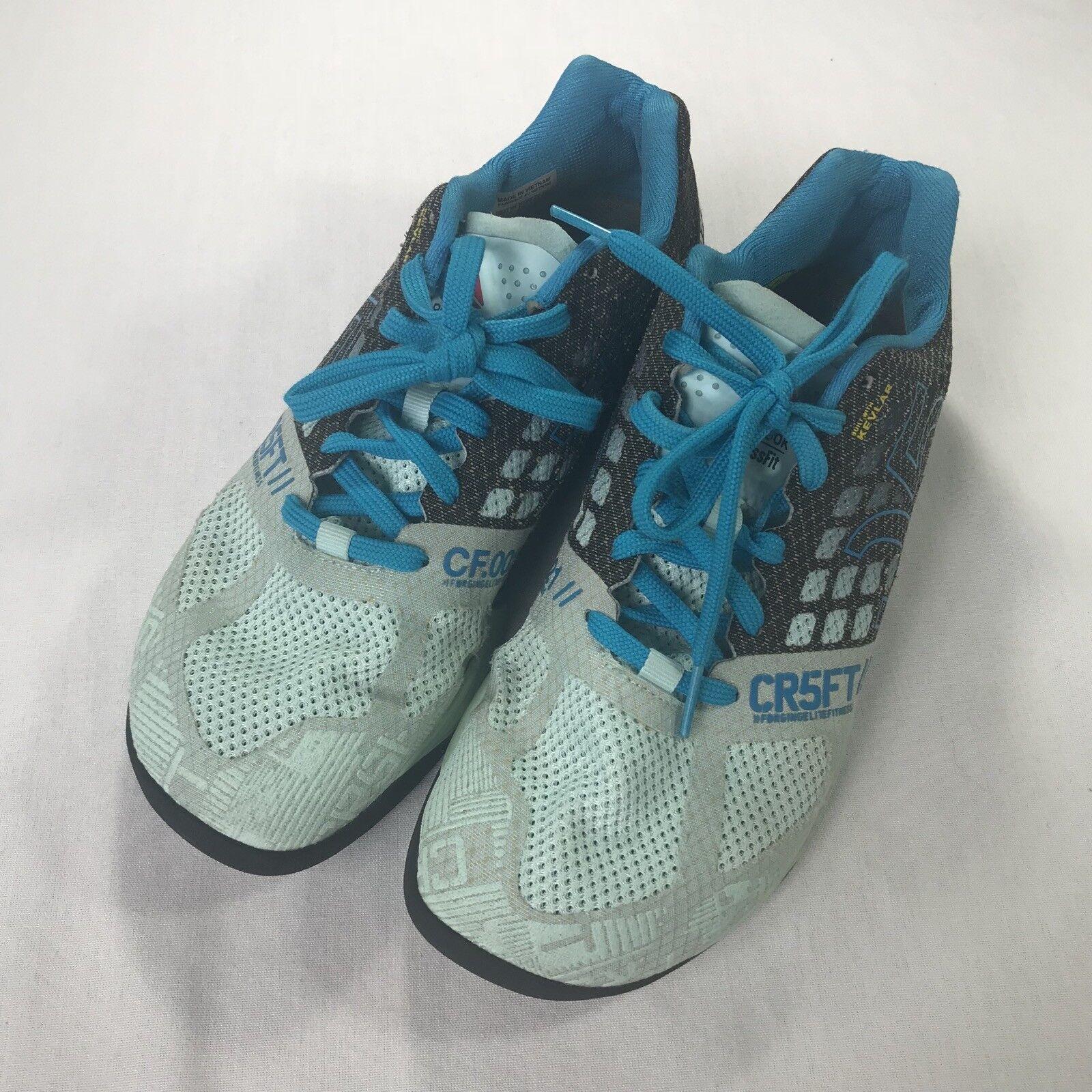 Reebok CrossFit Nano Size 5.0 Training Shoes Womens Size Nano 9.5 Blue e75931