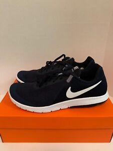 259da51aaa22 Nike Flex Experience RN 6 Dark Obsidian Wht 881802-403 Men s Running ...