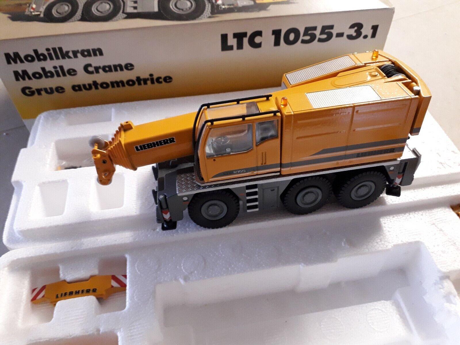 LIEBHERR LTC 1055-3.1 - Mobilkran - Conrad 20100 1 50 OVP nagelneu