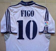 Adidas Real Madrid 00/01 Home Jersey - Figo 10. Mens L, Very Good Condition.