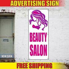Beauty Salon Banner Advertising Vinyl Sign Flag Barber Shop Nail Hair Bar Spa 24