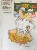 Cabbage Patch Kids Melco Textile 1983 Doll Pillow Fabric Panel Uncut Open Arms