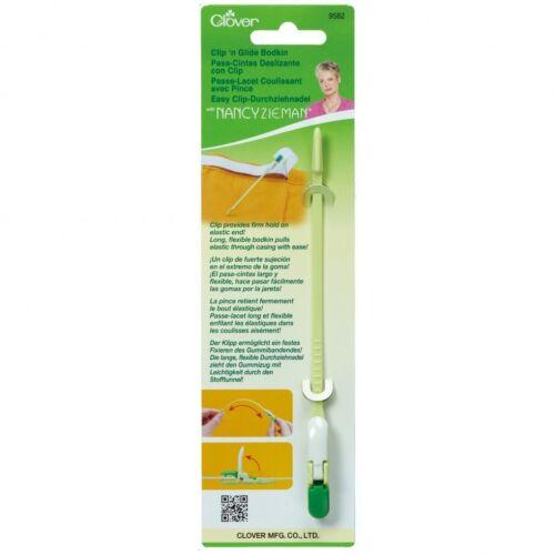 CLOVER Clip N GLIDE DA CUCIRE passalaccio-Per confezione CL9582