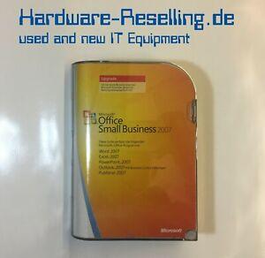 Microsoft Office Small Business 2007 SBE Upgrade Deutsch BOX MIT CDs