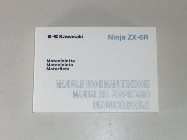 Operating Instructions  Manual  Manual  Instructie Kawasaki