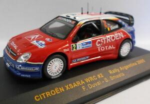 IXO 1/43 escala RAM200 Citreon Xsara WRC #2 Argentina 2005