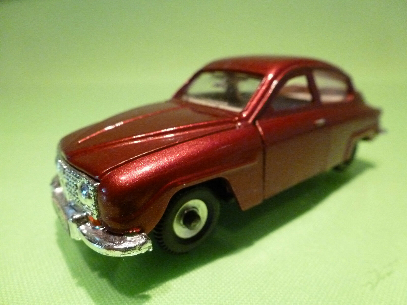 DINKY TOYS 156 SAAB 96 1 43 - PERFECT RESTAURATION CODE 3 - VERY GOOD