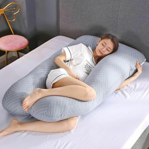 Big Size Maternity Pillow Cover Pregnancy Full Body Cushion Side Sleepers Case