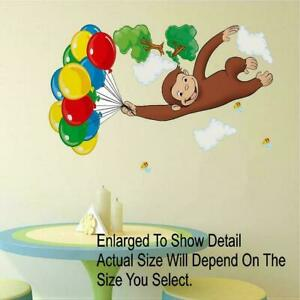 Paper Mache Hot Air Balloon | Spoonful | Curious george ...  |Curious George Holding Ballons Drawings