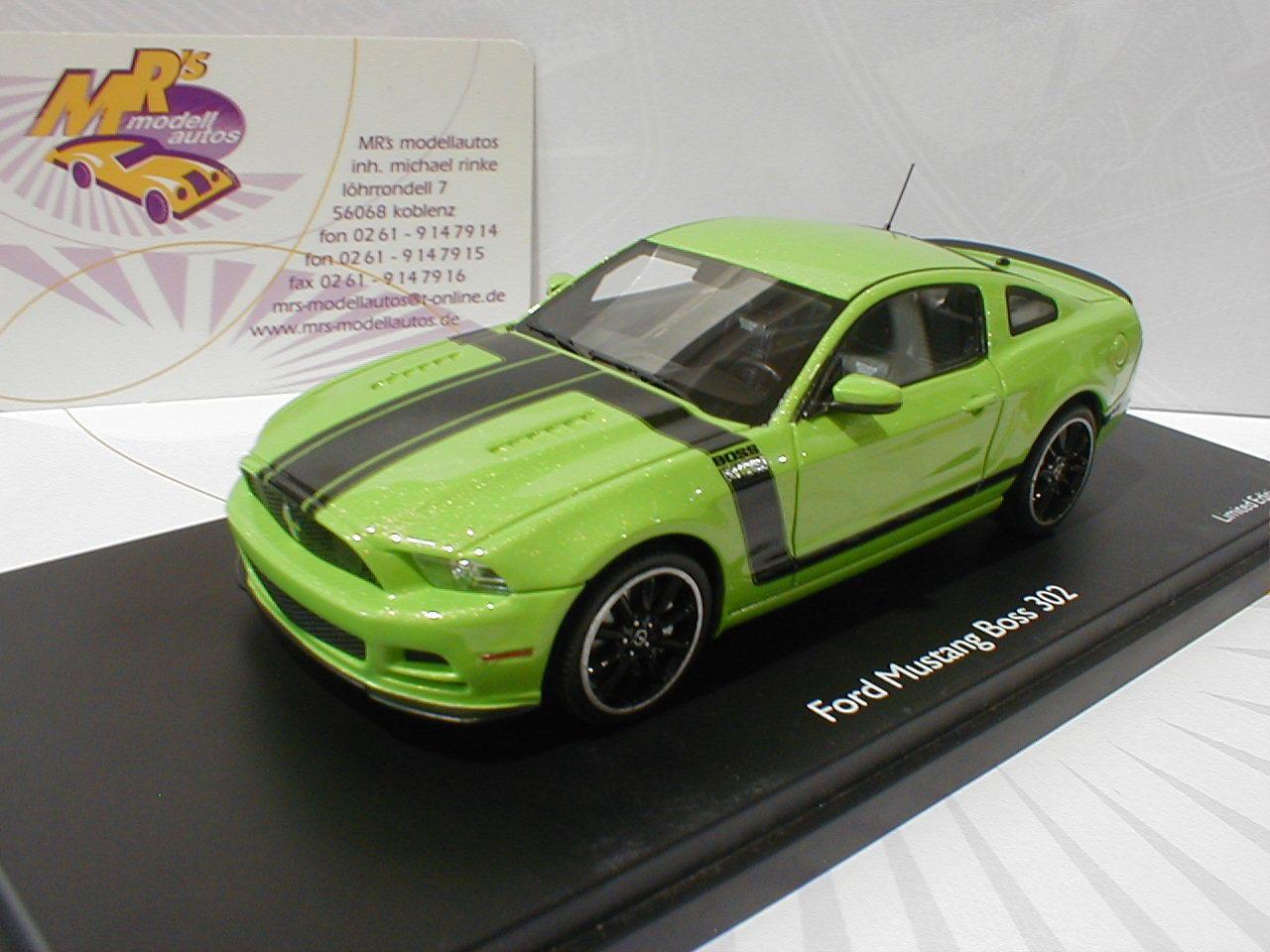 TOPPREIS 08831   Schuco Pro.R FORD Mustang 302   hellgrün-schwarz   1 43  TOP  | Erste in seiner Klasse
