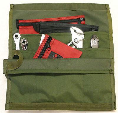 ToolPak 7 Pocket WrenchWrap by Paktek NSN# 5140-01-356-8772  Small Tool Roll