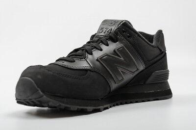 New Balance Men's ML574CHD Classic Shoe Black Iconic Sneaker 8.5 2E Brand New!