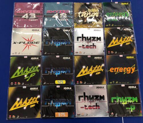 JOOLA Tischtennis Belag Rhyzer Tango Maxxx Rhyzm Samba energy x-plode NEU OVP