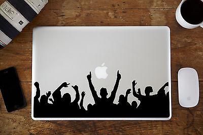 "Rock Crowd Decal Sticker for Apple MacBook Pro Laptop 13"""