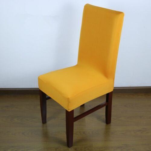 Universal Polyester Spandex Chair Flat Bottom Cover Wedding Banquet Decorations