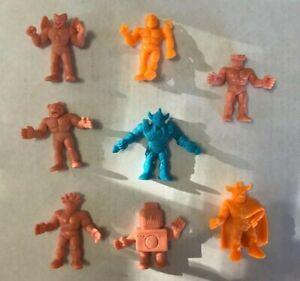 Vintage-Mattel-M-U-S-C-L-E-Action-Figures-Muscle-Men-Lot-of-8