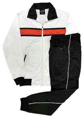 Men/'s Classical GYM Active TrackJacket /& TrackPants  Spring /& Summer Casual Suit
