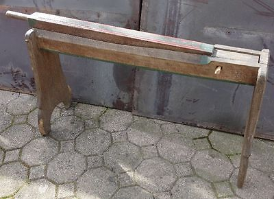 Antiker Flachsbrecher 1886 SorgfäLtig AusgewäHlte Materialien Geräte