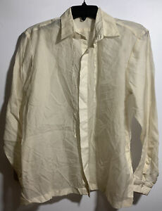 BARONG-TAGALOG-MEN-S-LONG-SLEEVE-BUTTON-FRONT-SHIRT-SIZE-SMALL