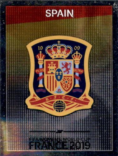 Wappen Panini Frauen WM 2019 Sticker 138 Spanien