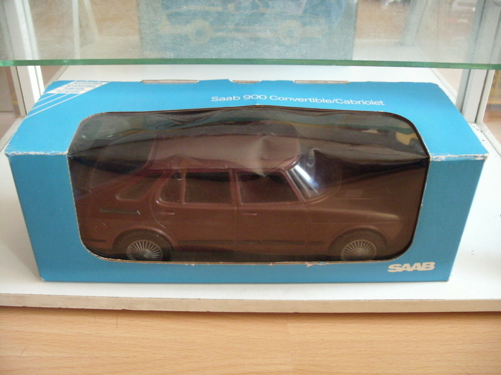 Stahlberg Finland  Saab 900 Turbo in marron in Box  promotions discount