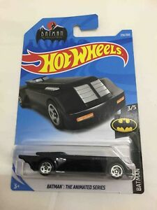 Hot-wheels-Hotwheels-Batman-the-animated-series-batmobile-NEW