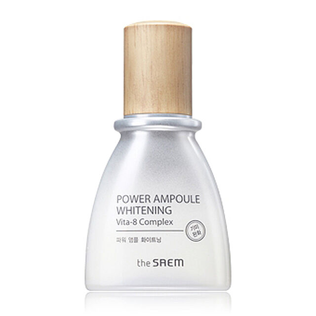 [THE SAEM] Power Ampoule Whitening 40ml / Concentrated whitening ampoule