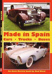 Book-Made-in-Spain-Cars-Trucks-Buses-Hispano-Suiza-Pegaso-Seat-Authi-Santana