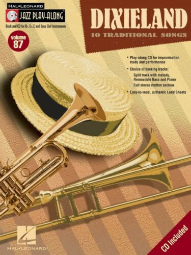 Dixieland Jazz Play Along Book and CD NEW 000843111