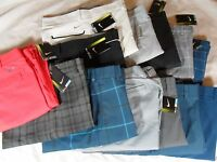 Mens Nike Golf Tour Performance Slim Standard Fit Pants Many Colors Sizes
