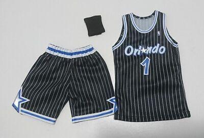 competitive price 22626 86a6e Custom 1/6 orlando magic penny hardaway jersey 1 NBA TOYs away black | eBay