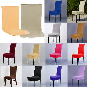 spandex dining room chair cover seat restaurant wedding party decor