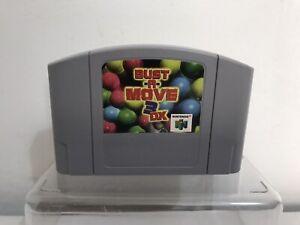 Bust a Move Nintendo 64 N64 juego de video solo carro