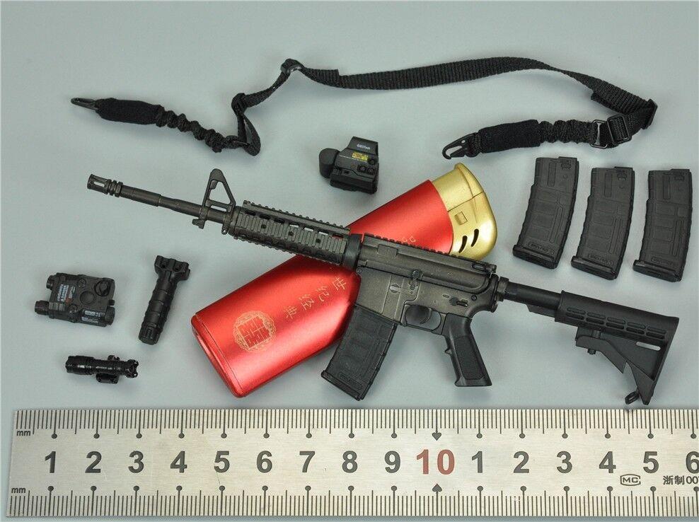 M4a1 sturmgewehr für damm 78050 navy offizier 1   6 - skala 12.