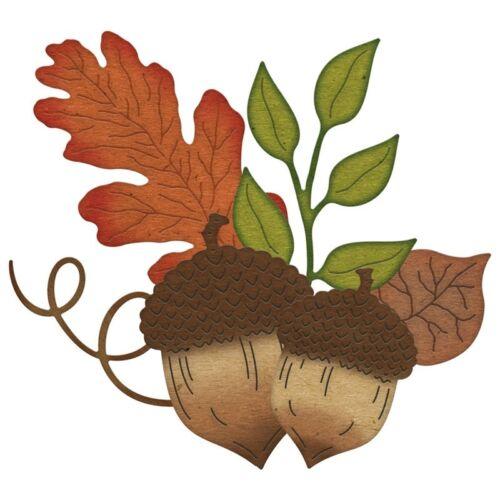 Pinecones Leaf Cutting Dies Stencil Handmade Crafts Stencil Paper Card Making