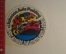Aufkleber/Sticker: Johnson Auto Pudding wer angibt hat mehr vom (05121690)