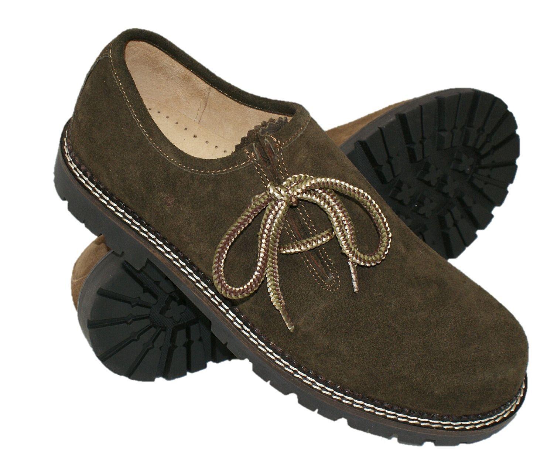 Trachtenschuhe Haferlschuhe Schuhe du.braun Tracht Haferl-Schuhe Trachten-Schuhe