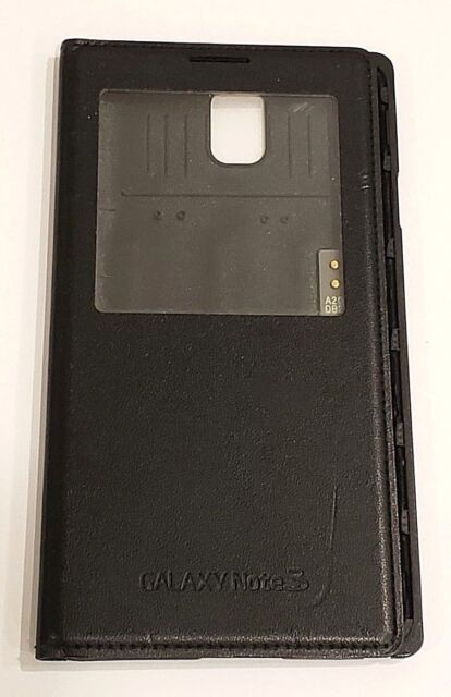 best cheap 3a105 63131 S View Window Flip Cover Case for Samsung Galaxy Note 3 III N9000 Black