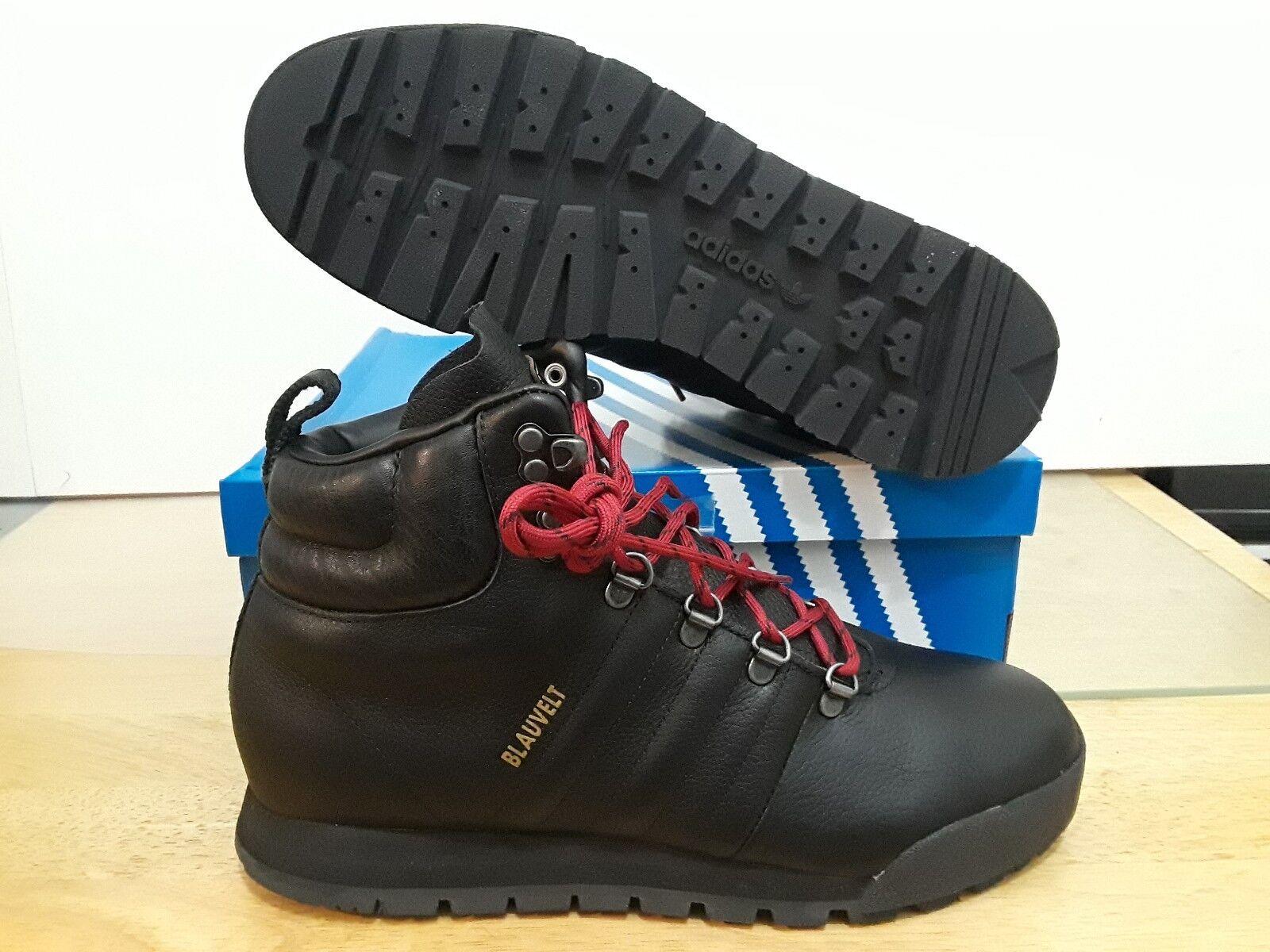 ADIDAS MEN'S JAKE blueVELT BLACK BOOT   G56462 SIZE  9