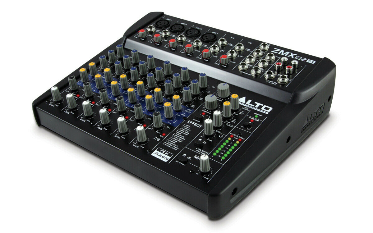 Alto Professional ZMX1222 - Table mixage 8 voies - 12 entrées