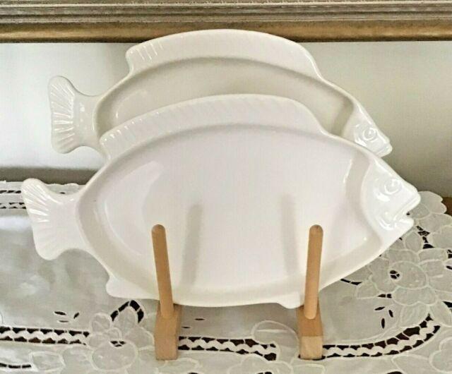 Vintage Pfaltzgraff Seafood Bake N Serve Dishes