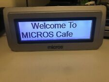 Micros Oracle 400381 001 Pos Tilt Rear Customer Display For Ws6