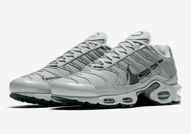 Size 10 - Nike Air Max Plus Grey 3M for sale online   eBay