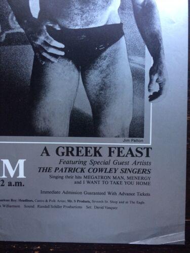 I-Beam Mr Drummer Poster 70/'s Haight Ashberry San Francisco Gay Pride LGBT RARE