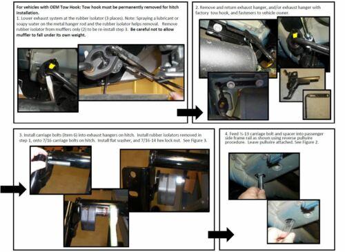 Trailer Hitch /& 7-Way RV Wiring For 11-19 Ford Explorer w// Bracket Plug /& Play
