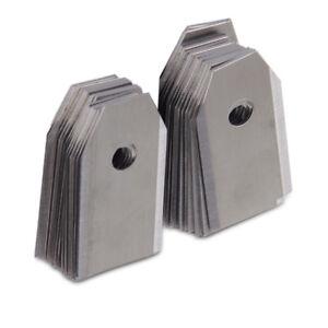 18pcs 0.6mm Silver Lawn Mower Blade Fit for Husqvarna Automower 305 308 Gardena