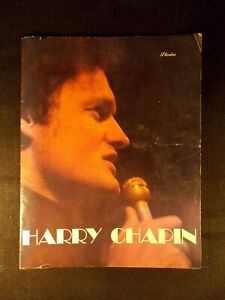 Harry-Chapin-Stories-13-5-034-x-10-5-034-Concert-Booklet-1978