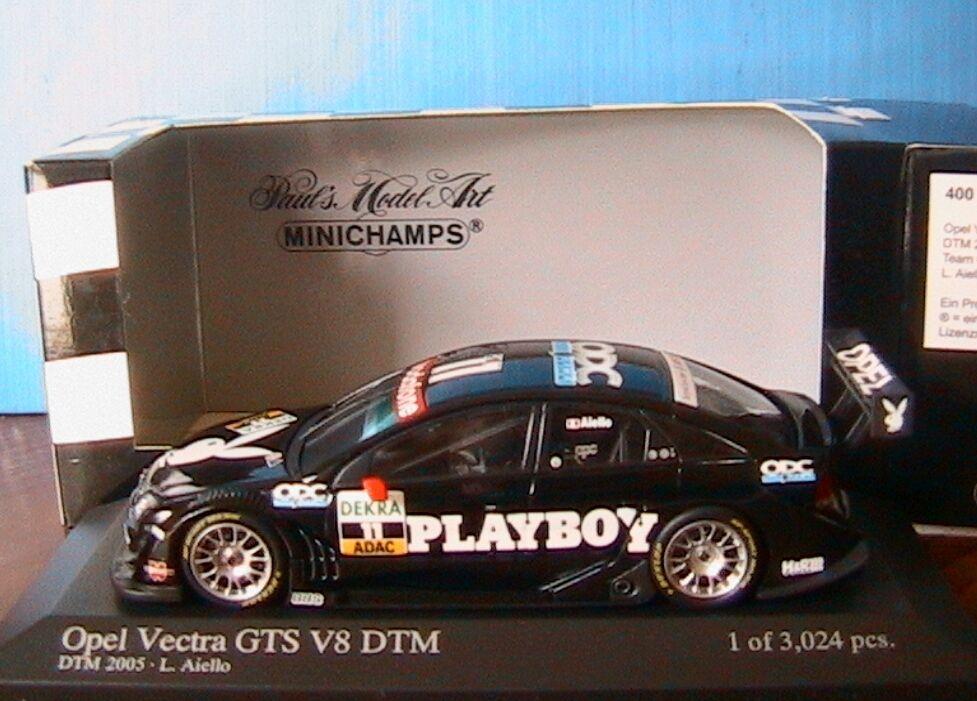 OPEL VECTRA GTS V8  11 DTM 2005 TEAM OPC AIELLO MINICHAMPS 400054611 1 43 PLAYBO