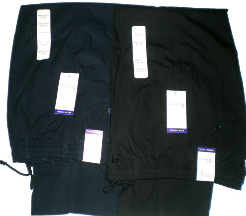 "MENS FULL ELASTICATED WAIST THERMAL LINED WARM RUGBY TROUSERS//PANTS L 29/"" 31/"""