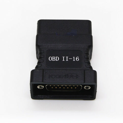 OBDII 16 Pin Connector adapter for Fcar F3-A F3-W F3-D F3-G F3S-W F6-D Scanner